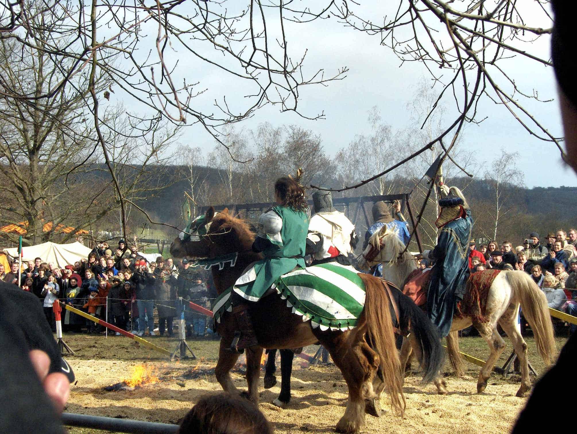 Mittelaltermarkt Loreley Pferd