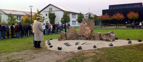 Stein Monument, gebaut von den RollingFlintStones