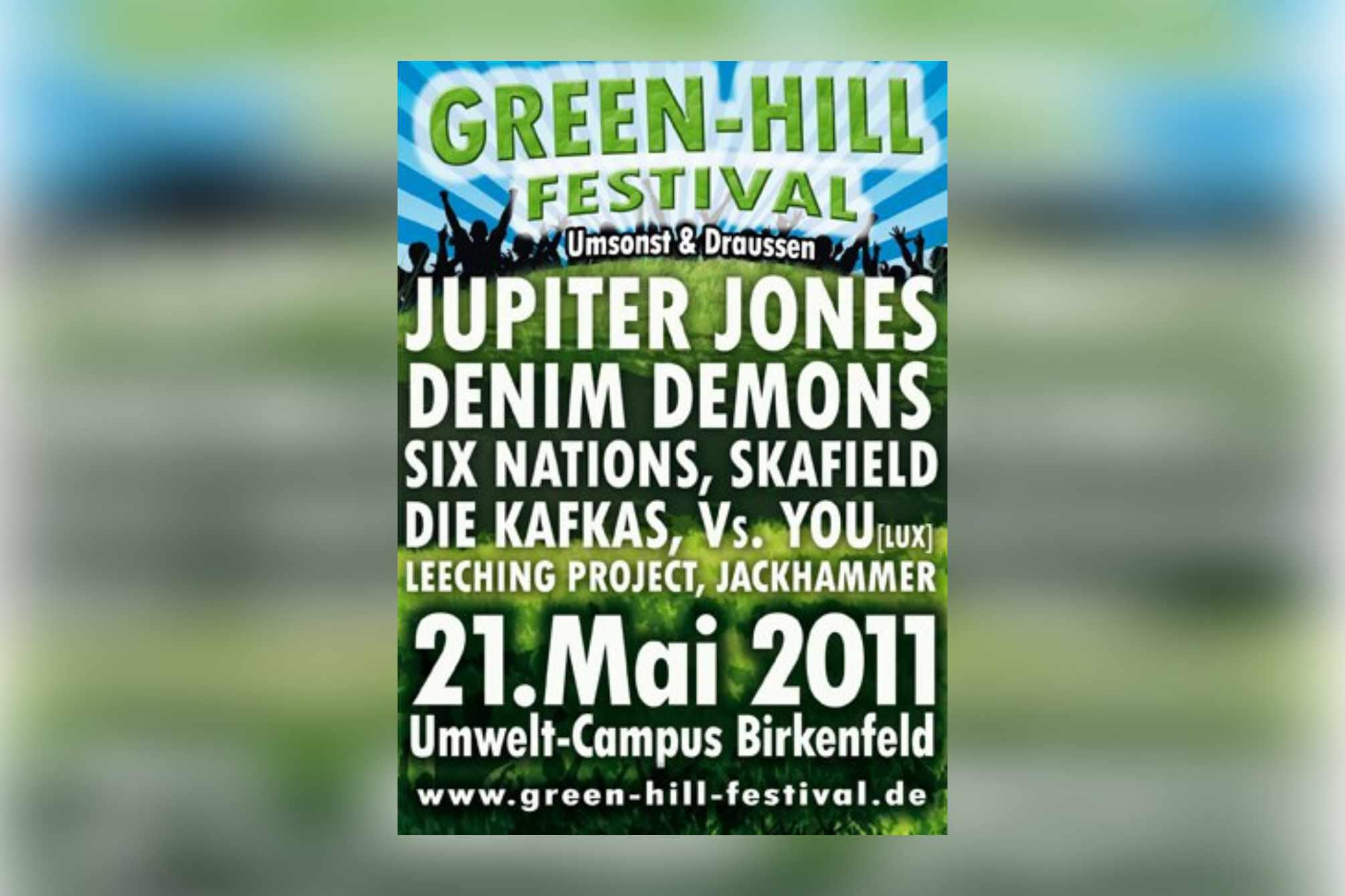 GreenHill 2011 am Umwelt-Campus
