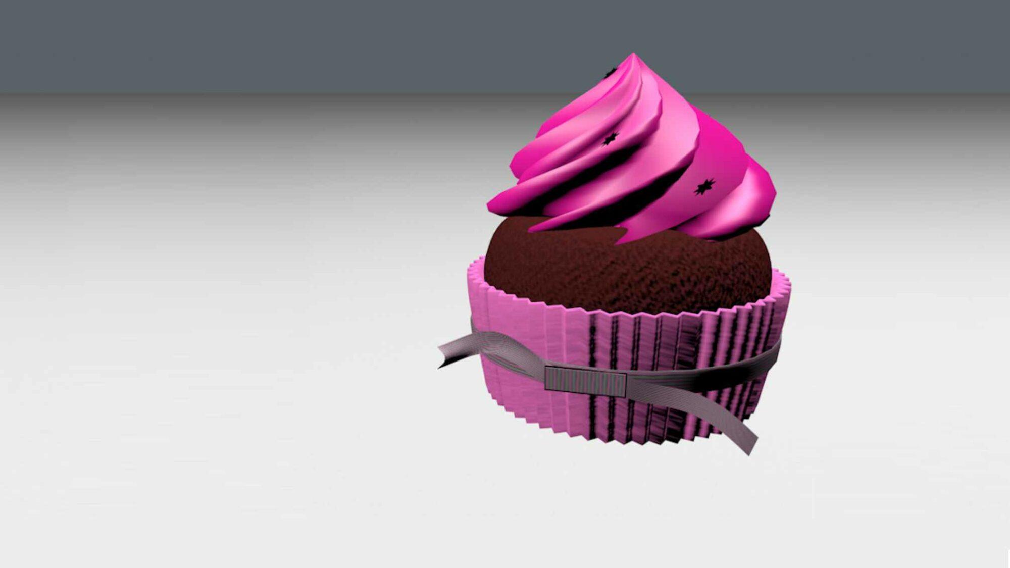 cupcake 3d cinema 4d