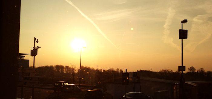 Sonnenaufgang am Hahn