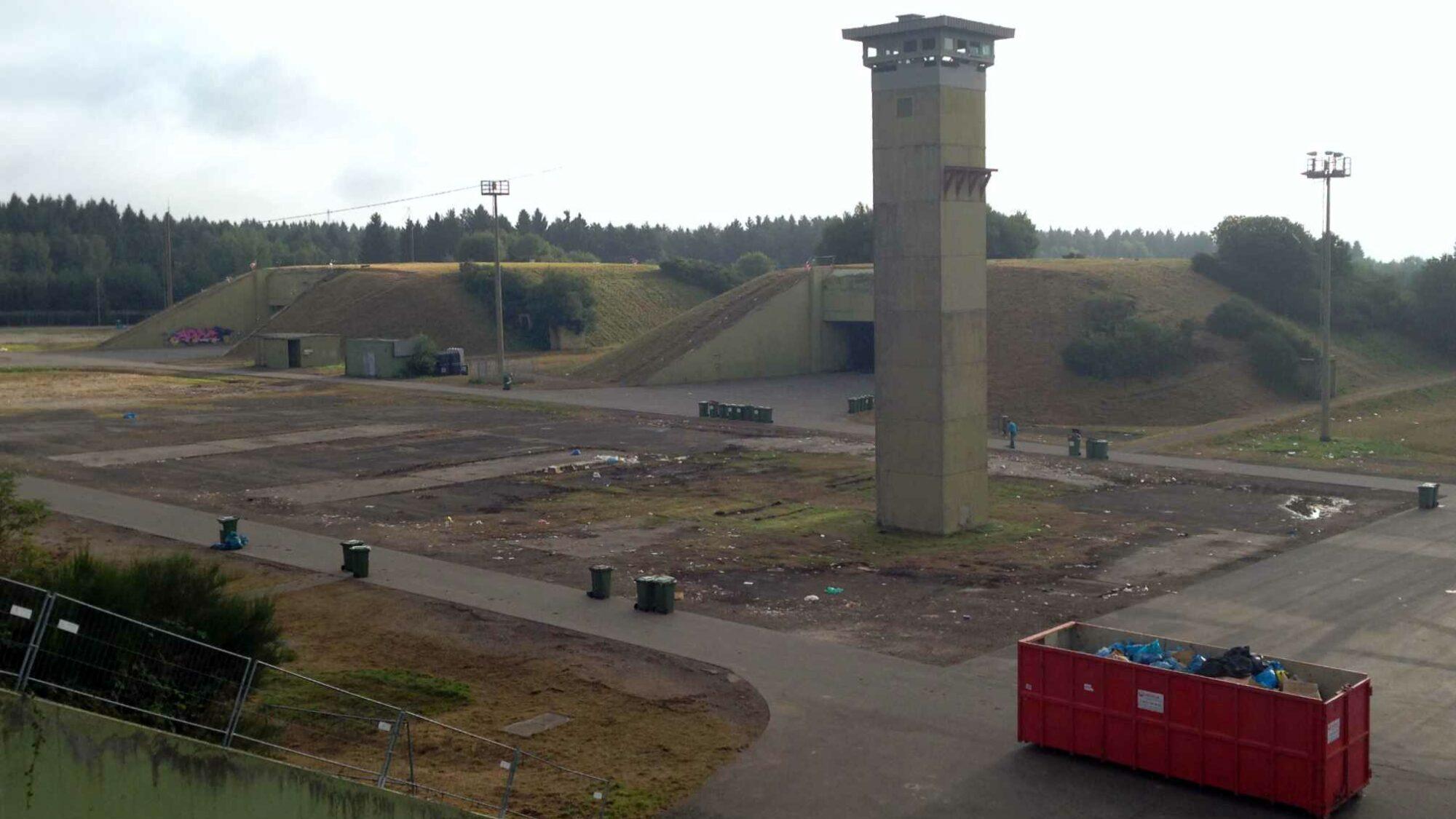 Lost place: Raketenbasis Pydna