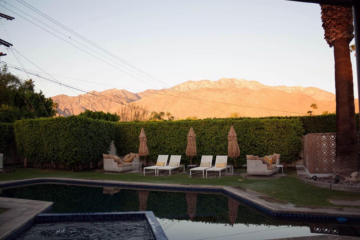 Palm Springs Aussicht