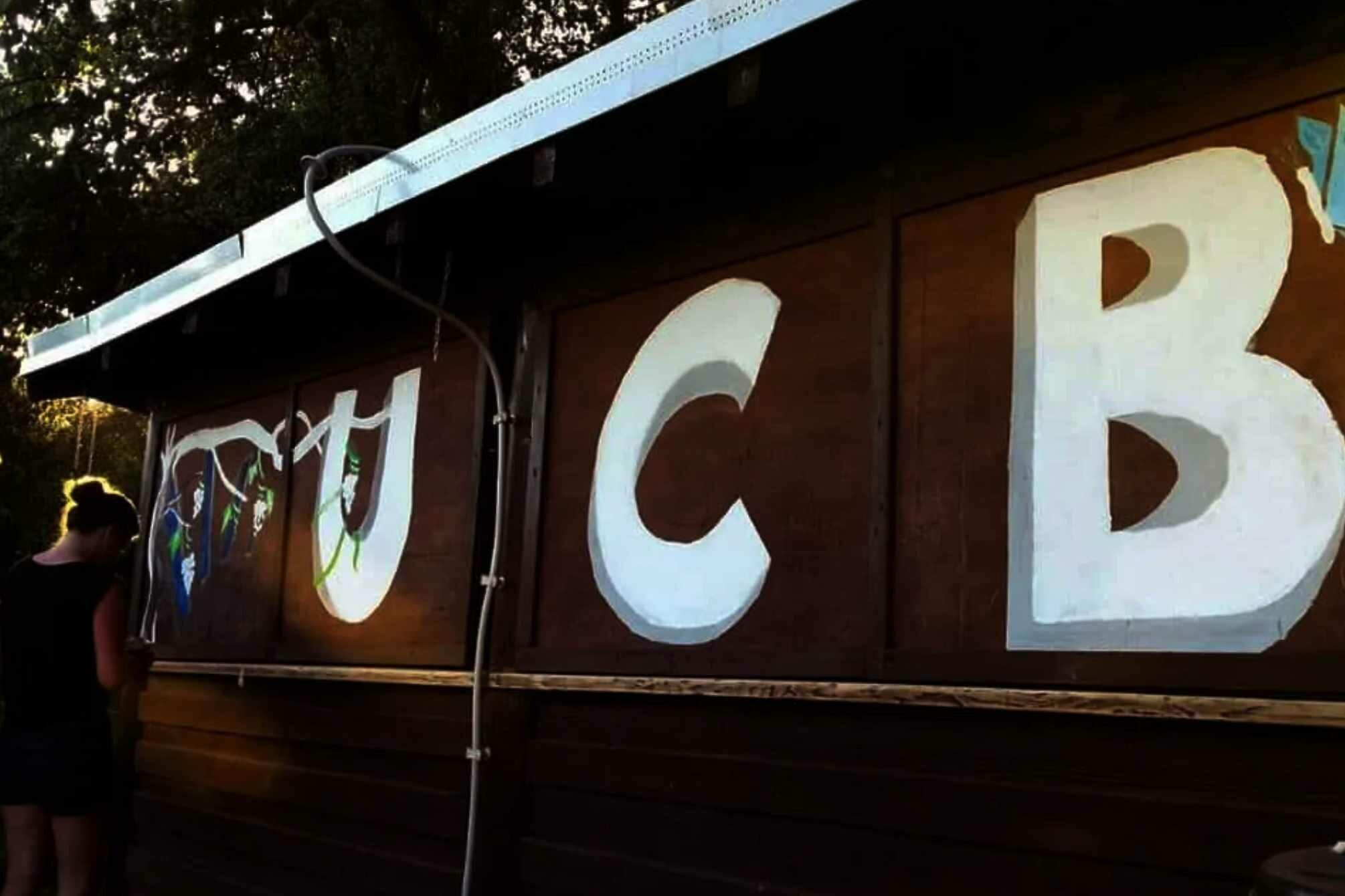 Grillhütte am UCB