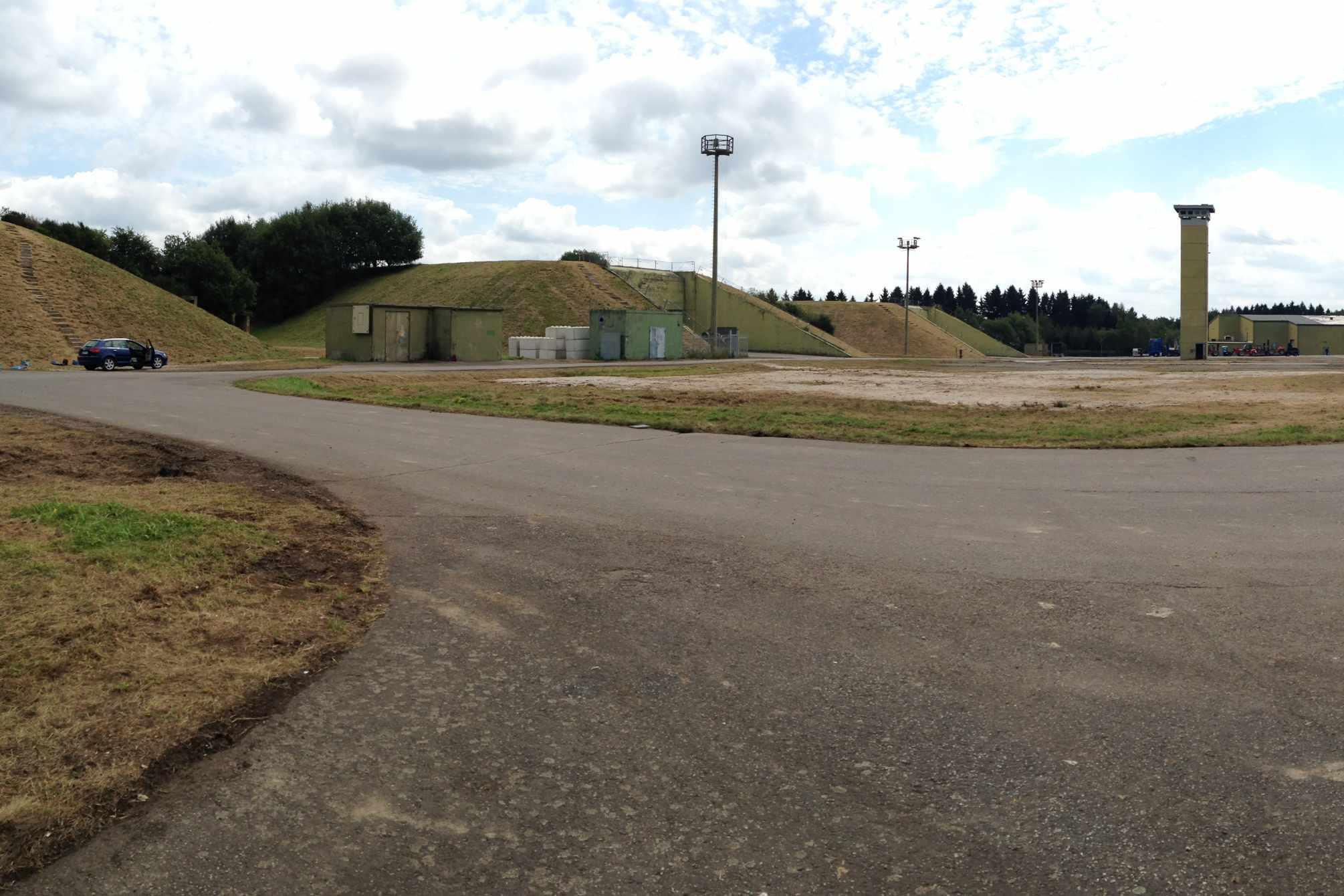 Lost place Raketenbasis Pydna: Aussicht auf das Gelände