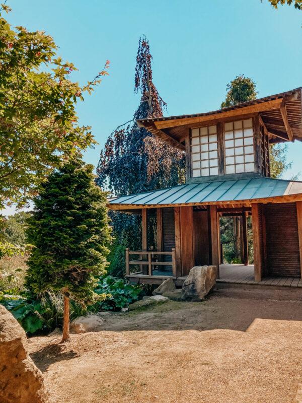 Japanisches Teehaus in Mondo Verde