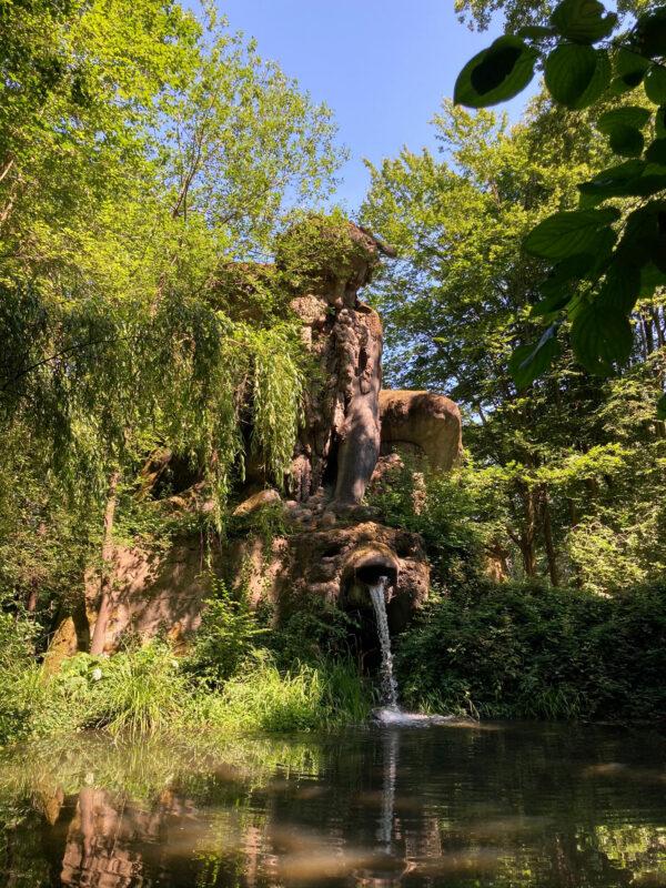 Wasserfall in Mondo Verde
